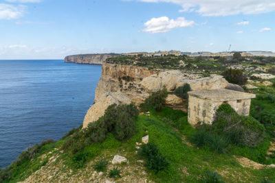 Geocaching auf Malta: Der Süden - Die Klippen bei Ghar Hasan: Am TB-Hotel
