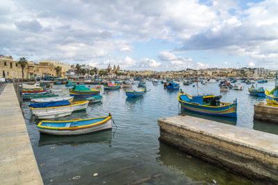 Geocaching auf Malta: Der Süden - Der Hafen von Maxaxlokk