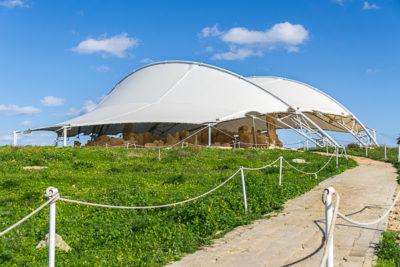 Geocaching auf Malta: Der Süden - die Tempel von ?a?ar Qim und Mnajdra - leider geschlossen heute