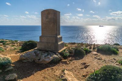 Geocaching auf Malta: Der Süden - die Tempel von ?a?ar Qim und Mnajdra - Blick aufs Meer