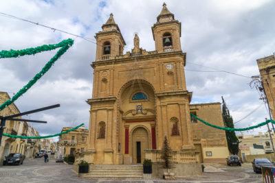 Geocaching auf Malta: Der Süden - Die Kirche von Maxaxlokk
