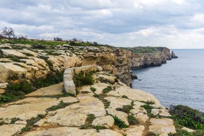 Geocaching auf Malta: Der Süden - Ghar Hasan - der Weg zur Höhle