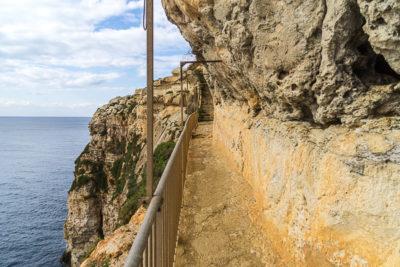 Geocaching auf Malta: Der Süden - Ghar Hasan - Kurz vor dem Eingang