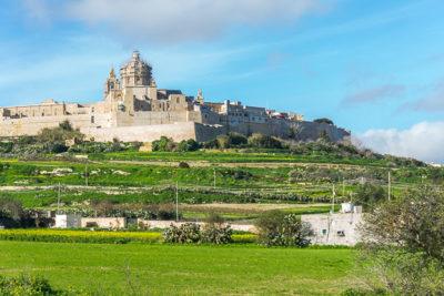 Geocaching auf Malta - Mdina Zitadelle