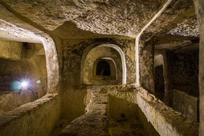 Geocaching auf Malta - Rabat Katakomben