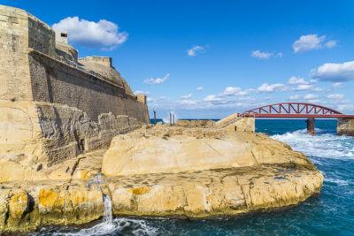 Geocaching auf Malta - Valetta - Rund ums Fort St. Elmo