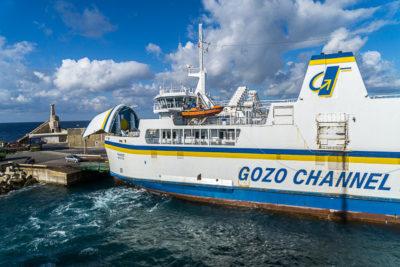 Geocaching auf Malta - Gozo - Fähre