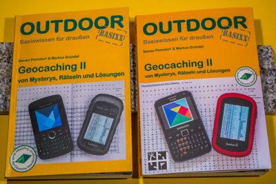 """DasBuch """"Geocaching II"""" - Vergleich der beiden Auflagen"""