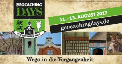Geocaching Days - Wege in die Vergangenheit: Interview mit der Orga