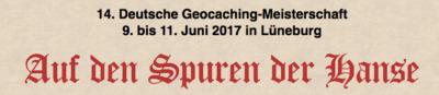 Geocaching-Meisterschaft 2017: Unsere Qualifikation!