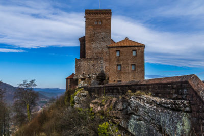Geocaching & Sightseeing: Burg Trifels