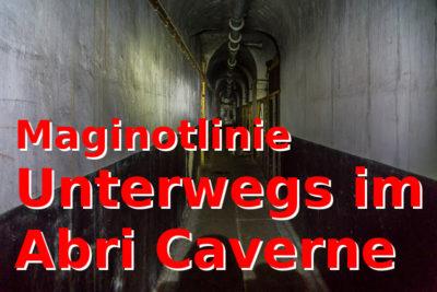 LP Maginot: Going Underground - Abri Caverne