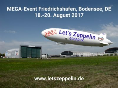 Project Let's Zeppelin 2017: Interview mit der Orga