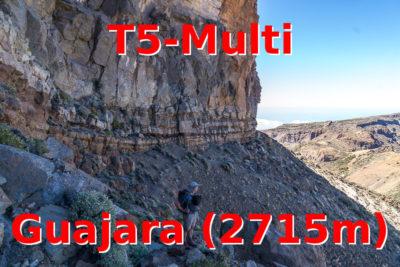 Geocaching in Teneriffa: T5-Multi auf dem Guajara (2715m)