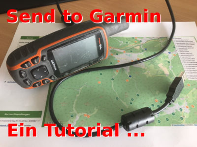 Send to Garmin Tutorial: So geht's!