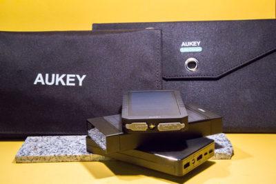 Mein Test: Powerbank und Solar-Ladegeräte von AUKEY