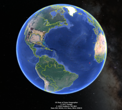 Mary Hyde: die erste Karte (Google Earth Overlay Tutorial)