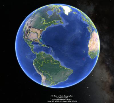 Mary Hyde: die erste Karte (Google Earth Overlay Tutorial)