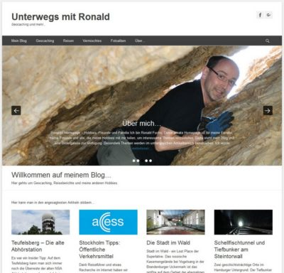 Unterwegs mit Ronald (Blogvorstellung)