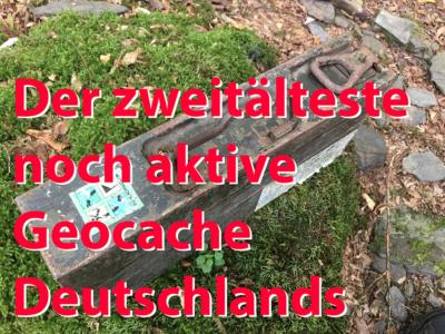 Ehrbachklamm Stash - der zweitälteste aktive Geocache Deutschlands!