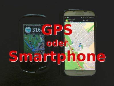 GPS oder Smartphone zum Geocaching?