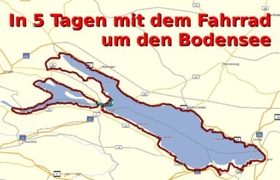 Bodensee-Radweg - Vorbereitung und Tourübersicht