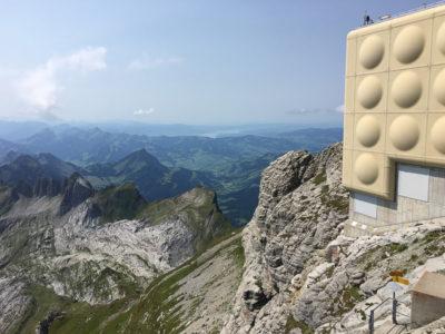 Geocaching & Sightseeing: Am und auf dem Säntis (2502m)