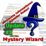 Mystery-Wizard: Das dritte Update ist verfügbar!