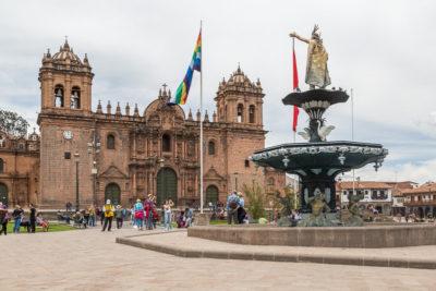 Geocaching in Peru: Cusco, die Hauptstadt der Inkas
