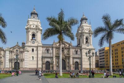 Geocaching in Peru: die Hauptstadt Lima