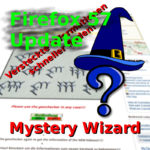 Mystery-Wizard: Update für Firefox 57!
