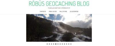 Röbüs Geocaching Blog (Blogvorstellung)