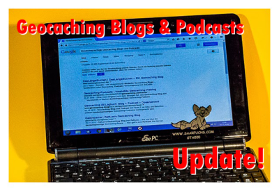 Geocaching Blogs und Podcasts: Update Dezember 2017