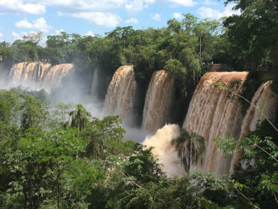 Geocaching in Argentinien: Die Wasserfälle von Iguazú