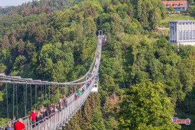 Geocaching im Harz - Qualitätscaches und die längste Hängebrücke