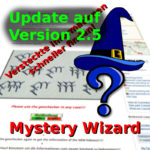 Mystery-Wizard: Update auf Version 2.5!