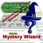 Mystery-Wizard: Update auf Version 2.5!