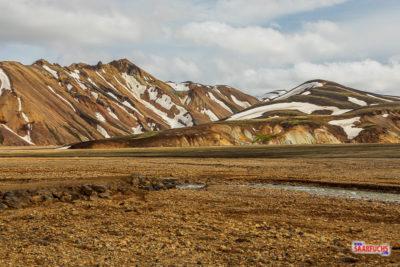 Geocaching auf Island: Landmannalaugar im Hochland