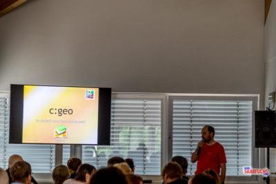 c:geo - So einfach kann Geocaching sein! (Vortragsfolien 2018)