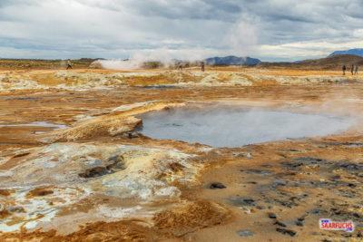 Geocaching auf Island: Rund um den Mývatn