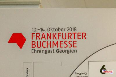 Frankfurter Buchmesse 2018: Fast keine Geocaching-Bücher!