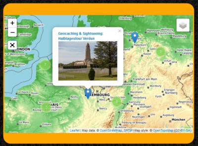 Reiseberichte übersichtlich auf interaktiver Karte