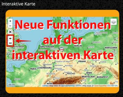 Erweiterung der interaktiven Karte auf saarfuchs.com