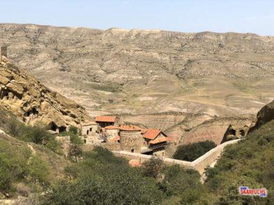Geocaching im Kaukasus: Kurz nach Aserbaidschan