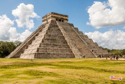 Geocaching & Sightseeing auf Yucatán - Chichén Itzá & Mérida