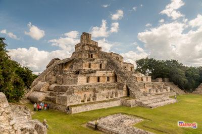 Geocaching & Sightseeing auf Yucatán - Edzná & Campeche