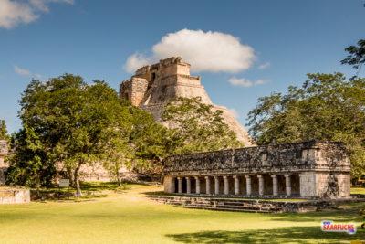 Geocaching & Sightseeing auf Yucatán – Uxmal