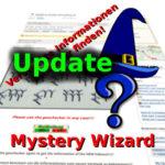 Mystery-Wizard: Bugfix & Update auf Version 3.1!