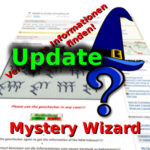 Mystery-Wizard: Bugfix & Update auf Version 3.1!