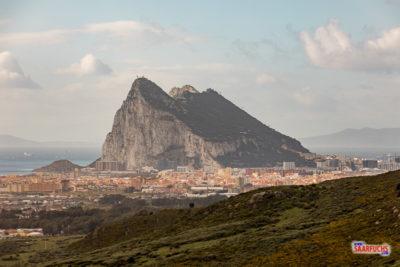 Geocaching in Andalusien - Gibraltar mit Länderpunkt